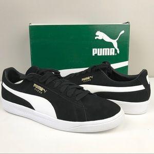 Puma men Suede ignite sneaker trainer black 13 NEW
